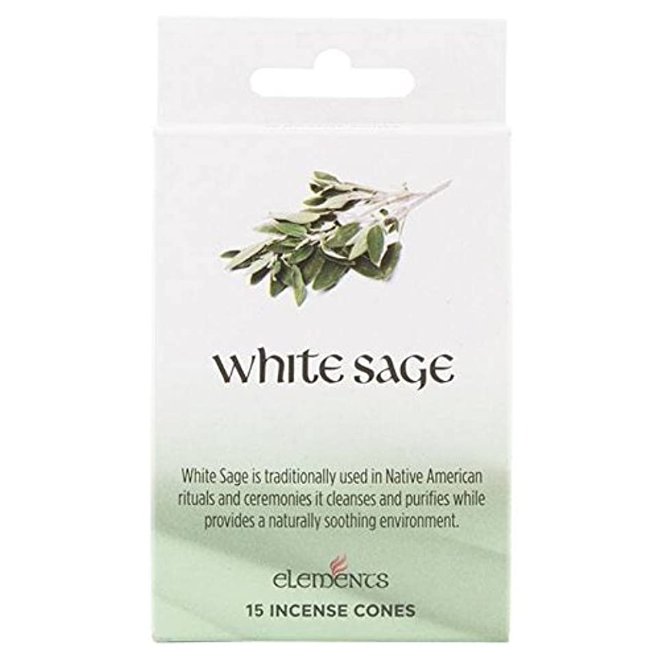 ファセットのぞき穴演劇12 Packs Of Elements White Sage Incense Cones