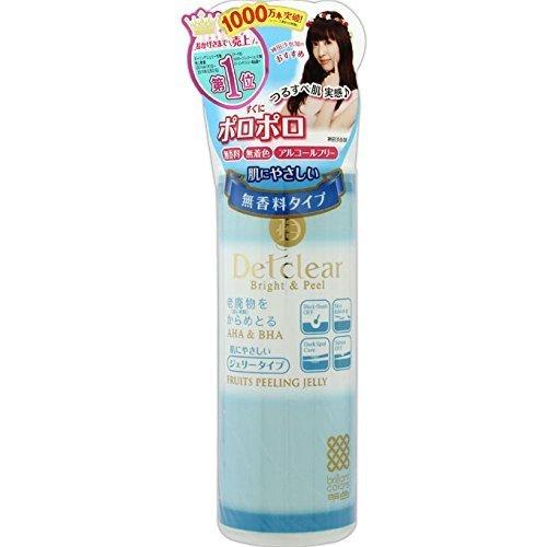 明色化粧品 DETクリア ブライト&ピール ピーリングジェリー (無香料タイプ) 180mL