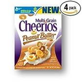 Cheerios チェリオス ピーナッツバターマルチグレイン 320g×4箱