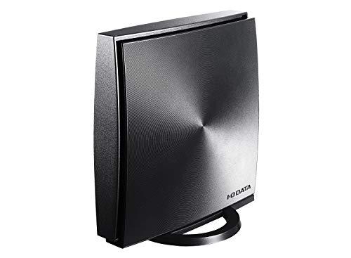 I-O DATA Wi-Fi 無線LAN ルーター 11ac 867+300Mbps 対応 3階建/4LDK/土日サポート/1年保証/返金保証 WN-DX1167R/E