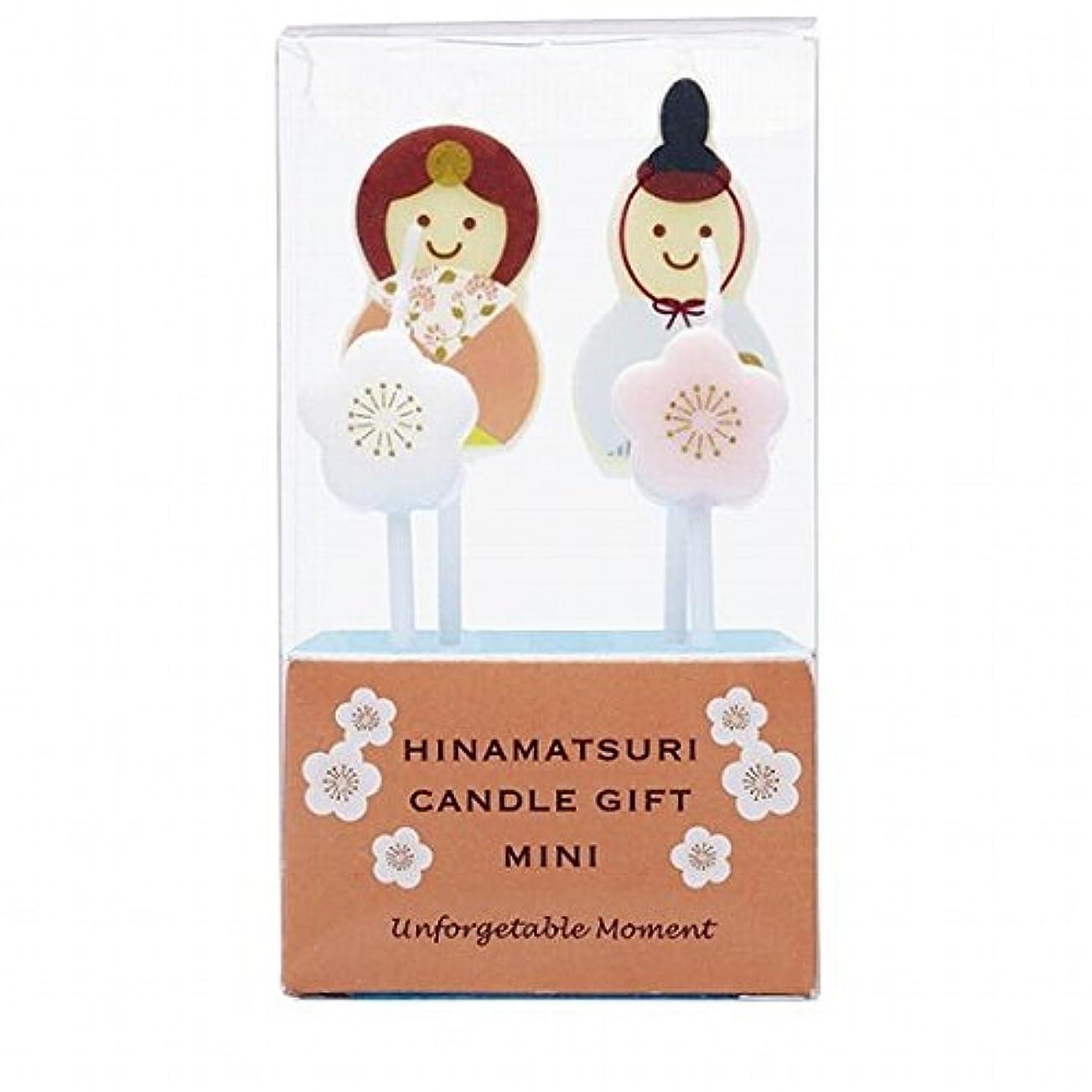 宝石満足できる吸収カメヤマキャンドル(kameyama candle) ひなまつりキャンドルギフトミニ