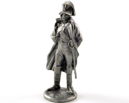 フランス。ナポレオン・ボナパルト、1805年から1815年の年。金属彫刻。France. Napoleon Bonaparte, 1805-15 years. Metal sculpture. Tin toy soldiers. コレクション54ミリメートル(1/32スケール)を ミニチュア置物.錫のおもちゃの兵士