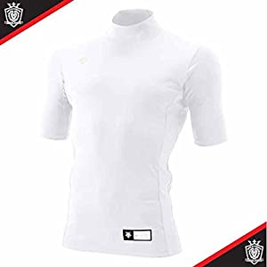 DESCENTE(デサント) ハイネック半袖リラックスFITシャツ STD-705