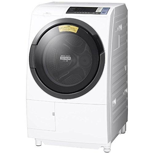 日立 10.0kg ドラム式洗濯乾燥機【左開き】ホワイトHIT...