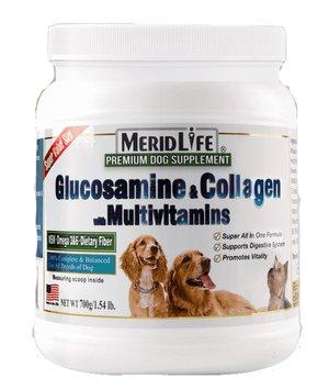 MERID LIFE 犬用グルコサミン&コラーゲン マルチビ...