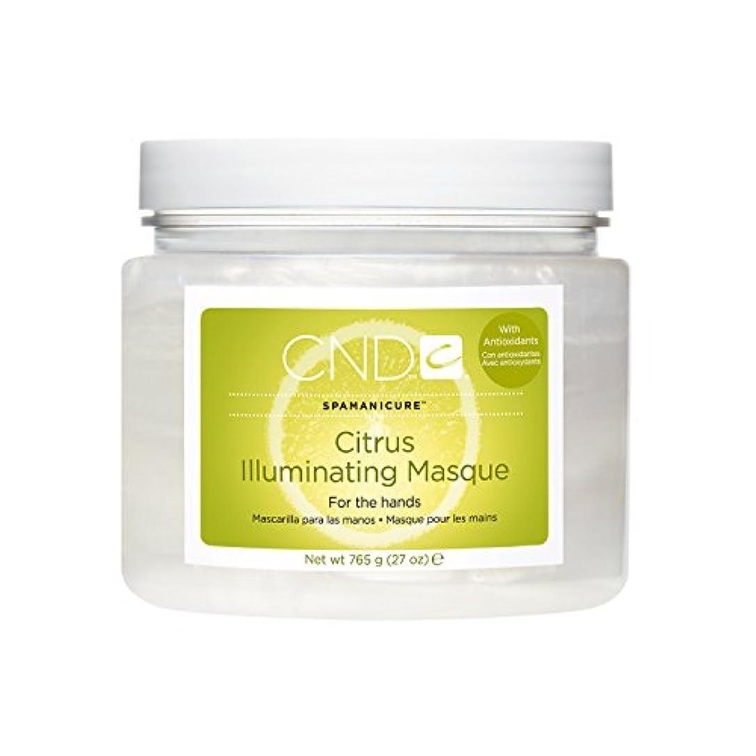 スカープ記者手順CND SpaManicure - Citrus Illuminating Masque - 27oz