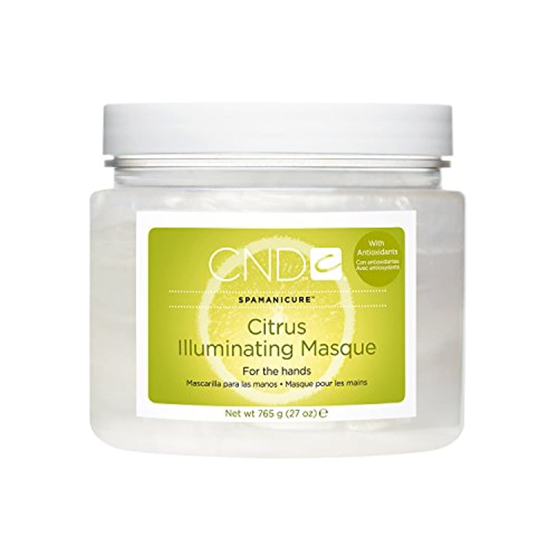 却下するヒョウポスト印象派CND SpaManicure - Citrus Illuminating Masque - 27oz