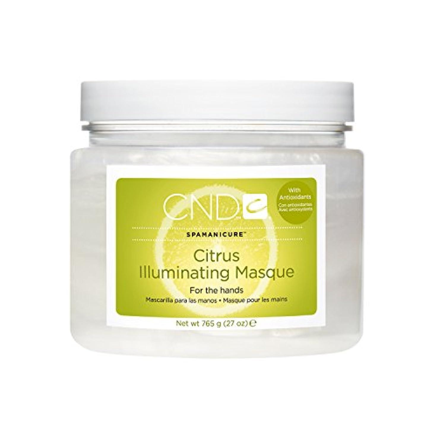 イライラする抑制アプライアンスCND SpaManicure - Citrus Illuminating Masque - 27oz