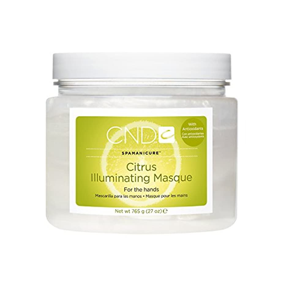 もっともらしいグローブ内部CND SpaManicure - Citrus Illuminating Masque - 27oz