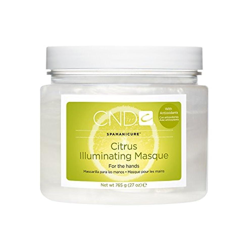 インフルエンザ行為お勧めCND SpaManicure - Citrus Illuminating Masque - 27oz