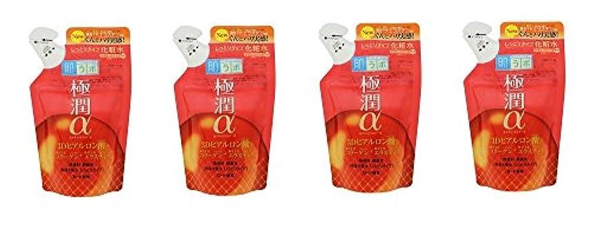 インドバスタブビルダー【まとめ買い】肌ラボ 極潤α ハリ化粧水しっとりタイプ つめかえ用170ml×4個