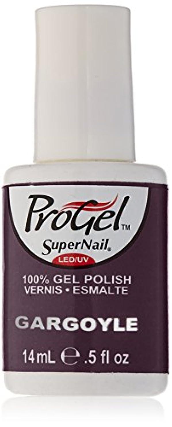 トリッキー全能人柄SuperNail ProGel Gel Polish - Gargoyle - 0.5oz/14ml