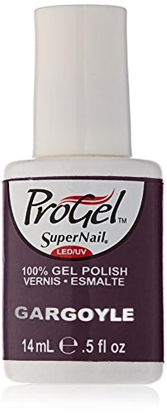 太陽擁する予想外SuperNail ProGel Gel Polish - Gargoyle - 0.5oz/14ml