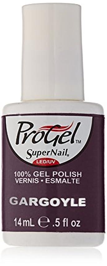 舌アーク忠実なSuperNail ProGel Gel Polish - Gargoyle - 0.5oz/14ml