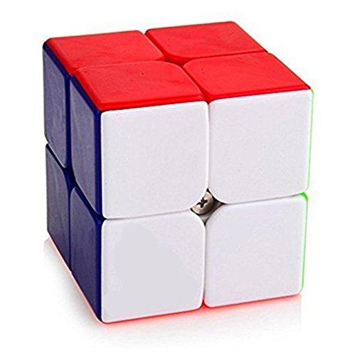 wodejiayuanパズルキューブ2x 2x 2マジックキューブパズルSmall Axe円形( 50mm ) Children 's Choice