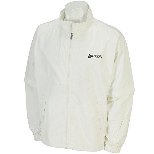 DUNLOP ダンロップ DUNLOP ダンロップ SRIXON レインジャケット メンズ SMR6001J ホワイト L