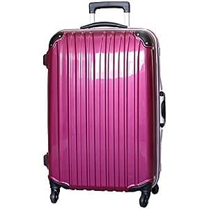 (ビータス) Beatas スーツケース TSAロック 軽量 アルミフレーム ビータス BH-F1000 Lサイズ 鏡面パープル(大型 7日8日9日10日11日12日用) 【一年修理保証】【L/PU】SUITCASE