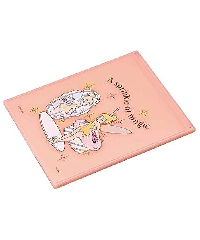庭園持続する慣習スタンドミラー ティンカーベル L MRS3 化粧鏡 卓上 折りたたみ ピンク 持ち運び コンパクト ミラー