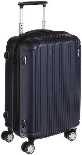 [バーマス]BERMAS スーツケース PRESTIGEII 49cm 34L 2.7kg ポーチ付 ファスナータイプ 機内持込サイズ HINOMOTOキャスター TSAロック 60262-60(ネイビー)