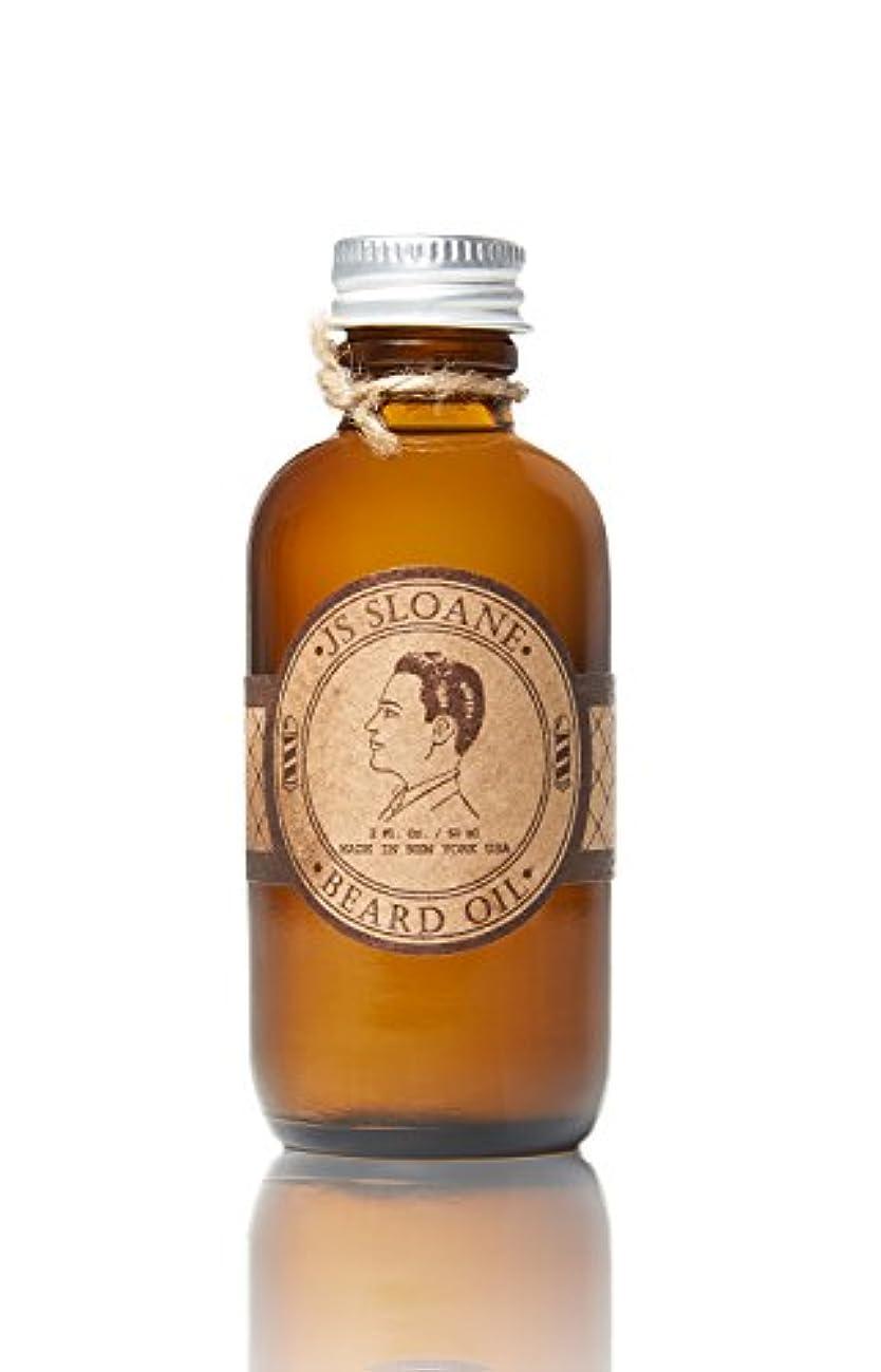 省略いう健全ジェイエススローン(JS Sloane) ビアードオイル BEARD OIL メンズ スキンケア 保湿 髭 マスタッシュ ヘアオイル