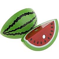 Perfeclan ふり遊び ごっこ遊びおもちゃ 木製おもちゃ 組み立て 食べ物 果物 19色選ぶ - 磁気食玩