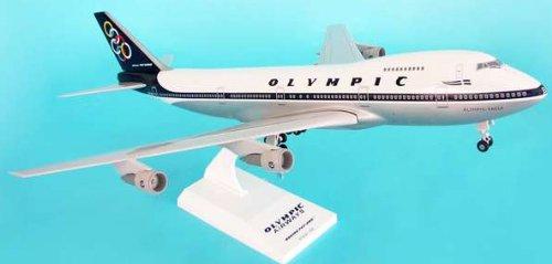 1: 200 スカイマークス Olympic 航空 ボーイング 747-200 with Landing Gear (並行輸入)