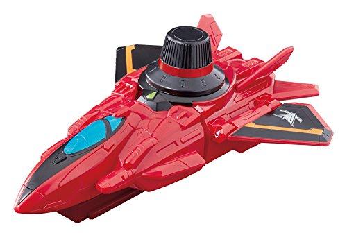 [해외]쾌도 전대 루팡 레인저 VS 경찰 전대 파투 레인저 VS 차량 시리즈 DX 레드 다이얼 파이터/Pleasant Squad Lupine Ranger VS Police Forces Patlanger VS Vehicle Series DX Red Dial Fighter