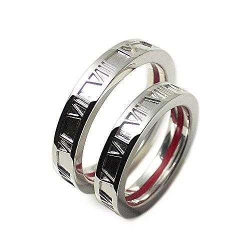 ラブオブディスティニー[LOVE of DESTINY] ペアリング シルバー 赤い本物の糸 指輪 lodr-038p