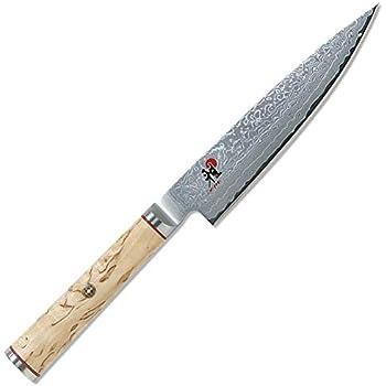 MIYABI ミヤビ 「5000MCD 小刀 130mm」 ダマスカス 多層鋼 ペティ ナイフ 包丁 日本製 34372-131