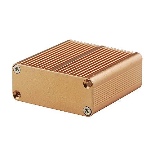 "Eightwoodアルミボックス回路ボードプロジェクト電子エンクロージャケースボックスdiy- 1.77"" x1.77"" x0.73( LxWxH )"