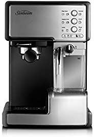 Sunbeam Café Barista Coffee Machine | One-Touch Espresso, Latte & Cappuccino Coffee Maker | 2L Water Tank