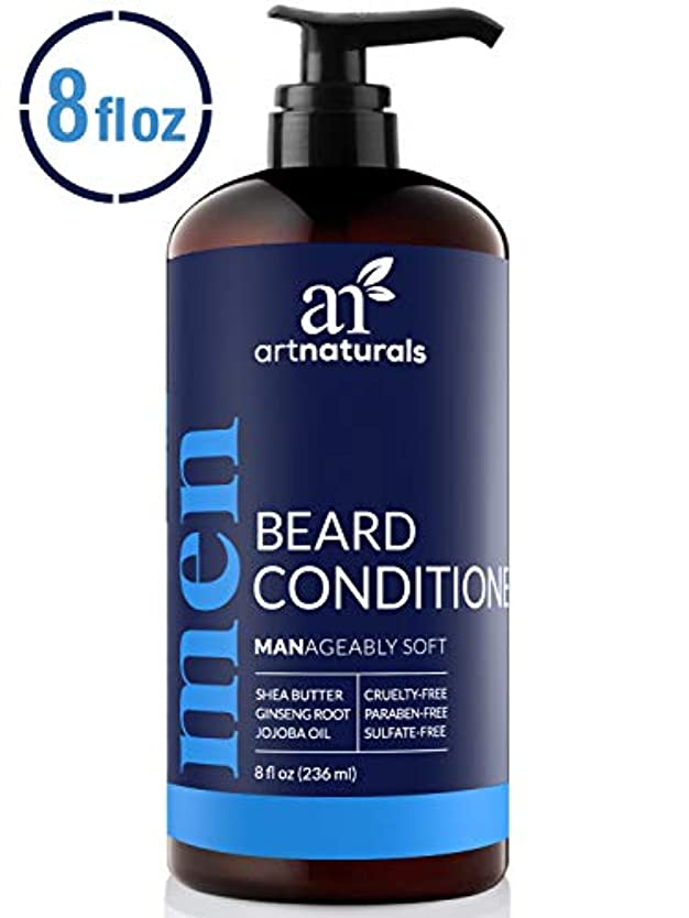 メロドラマティック日クラスArtNaturals Natural Beard Deep Conditioner - (8 Fl Oz/236ml) - Infused with Aloe Vera, Tea Tree and Jojoba Oil...