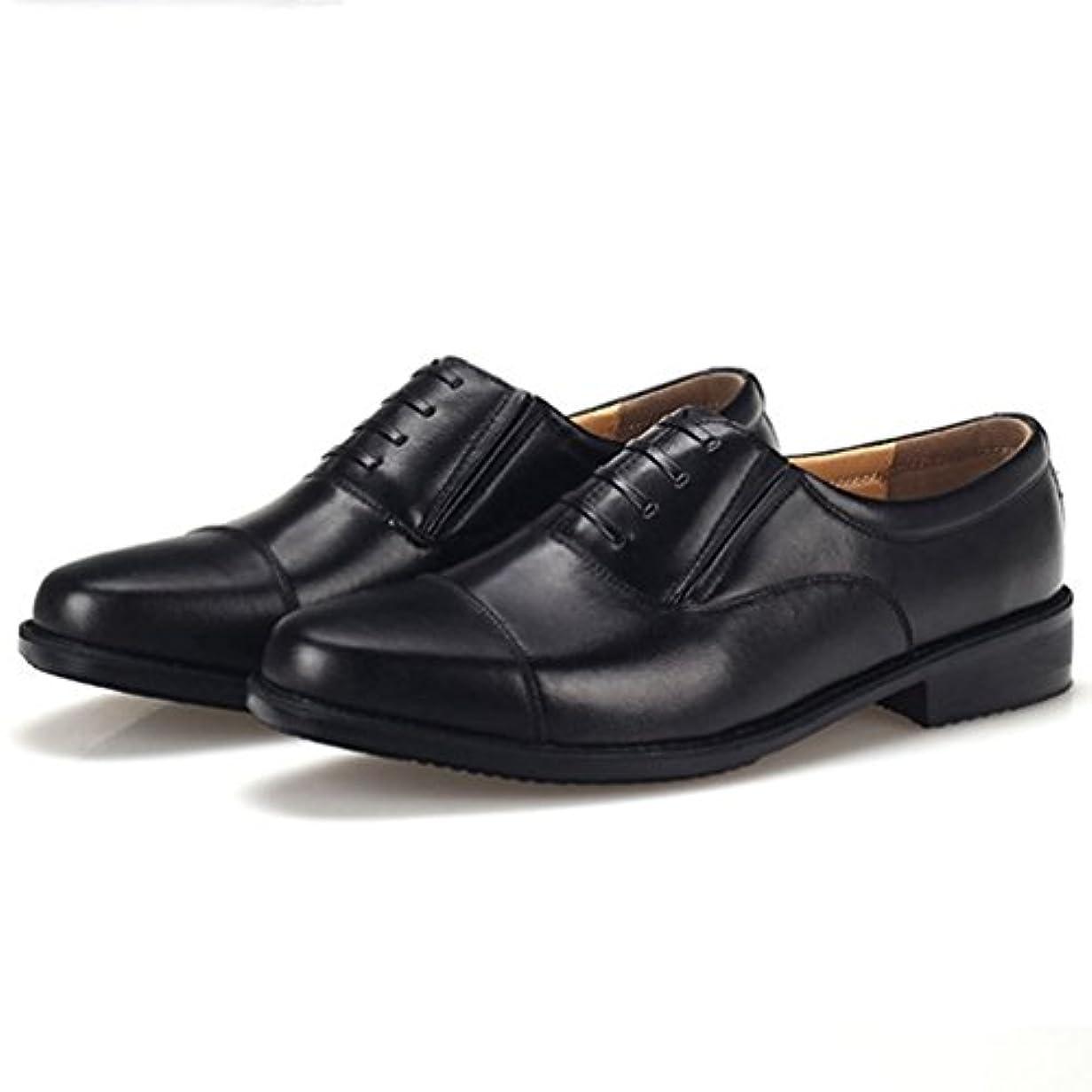 再現するキュービックウェブ[XINXIKEJI]ビジネスシューズ メンズ クラシック フォーマル 革靴 滑り止め 高幅広ビジネスシューズ ラウンド ストレートチップ 透湿 防滑 防水