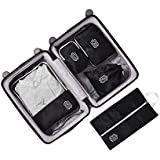 5 Set Compression Travel Packing Cubes by TheNextTrip Bag Packing Organiser Cube Set for Travel, Perfect Packing for Carry-on