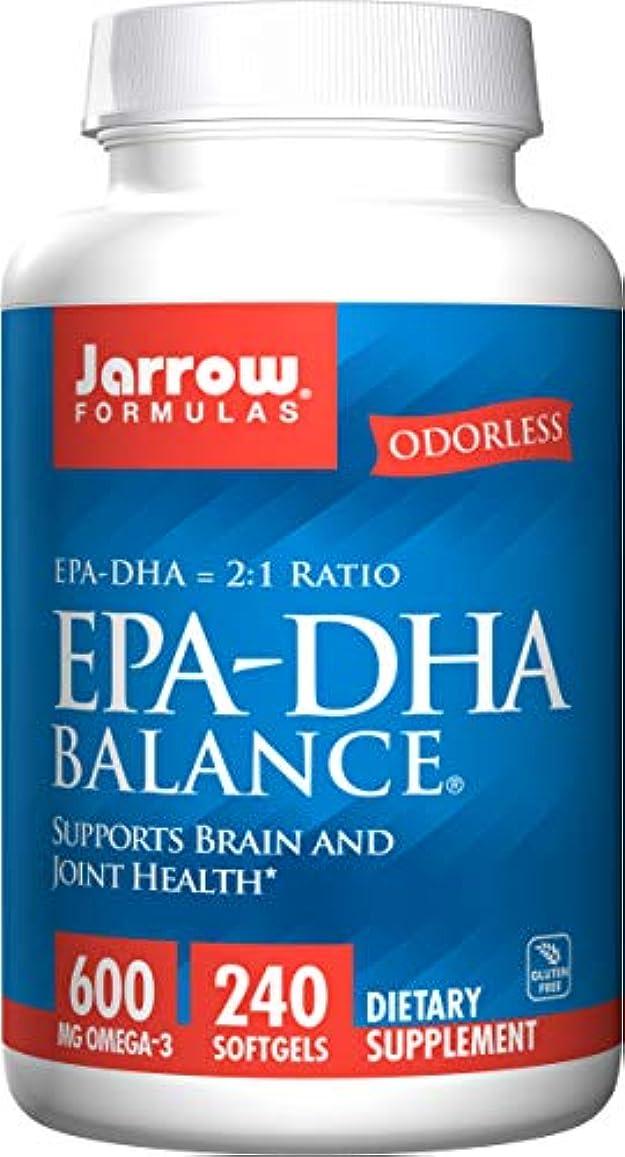 忌み嫌う同一の恩恵海外直送品Jarrow Formulas Epa-dha Balance, 240 Sftgels