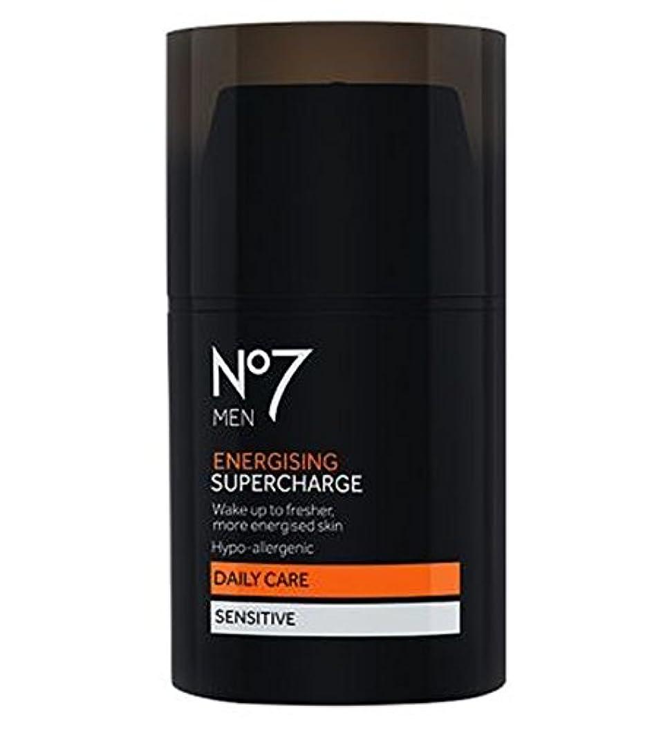 援助急流卵過給を通電No7の男性 (No7) (x2) - No7 Men Energising Supercharge (Pack of 2) [並行輸入品]