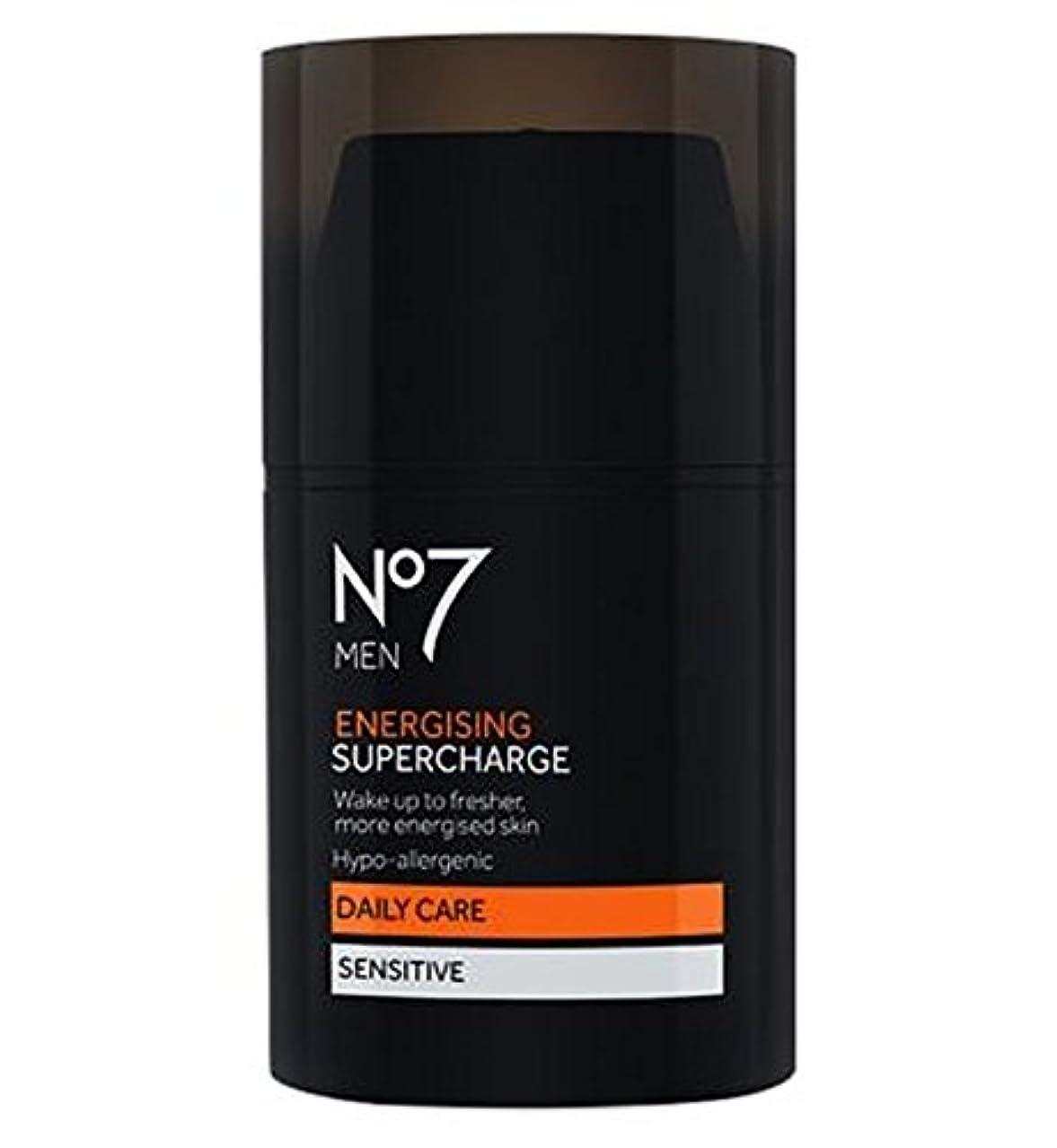 補う代わりに曇ったNo7 Men Energising Supercharge - 過給を通電No7の男性 (No7) [並行輸入品]