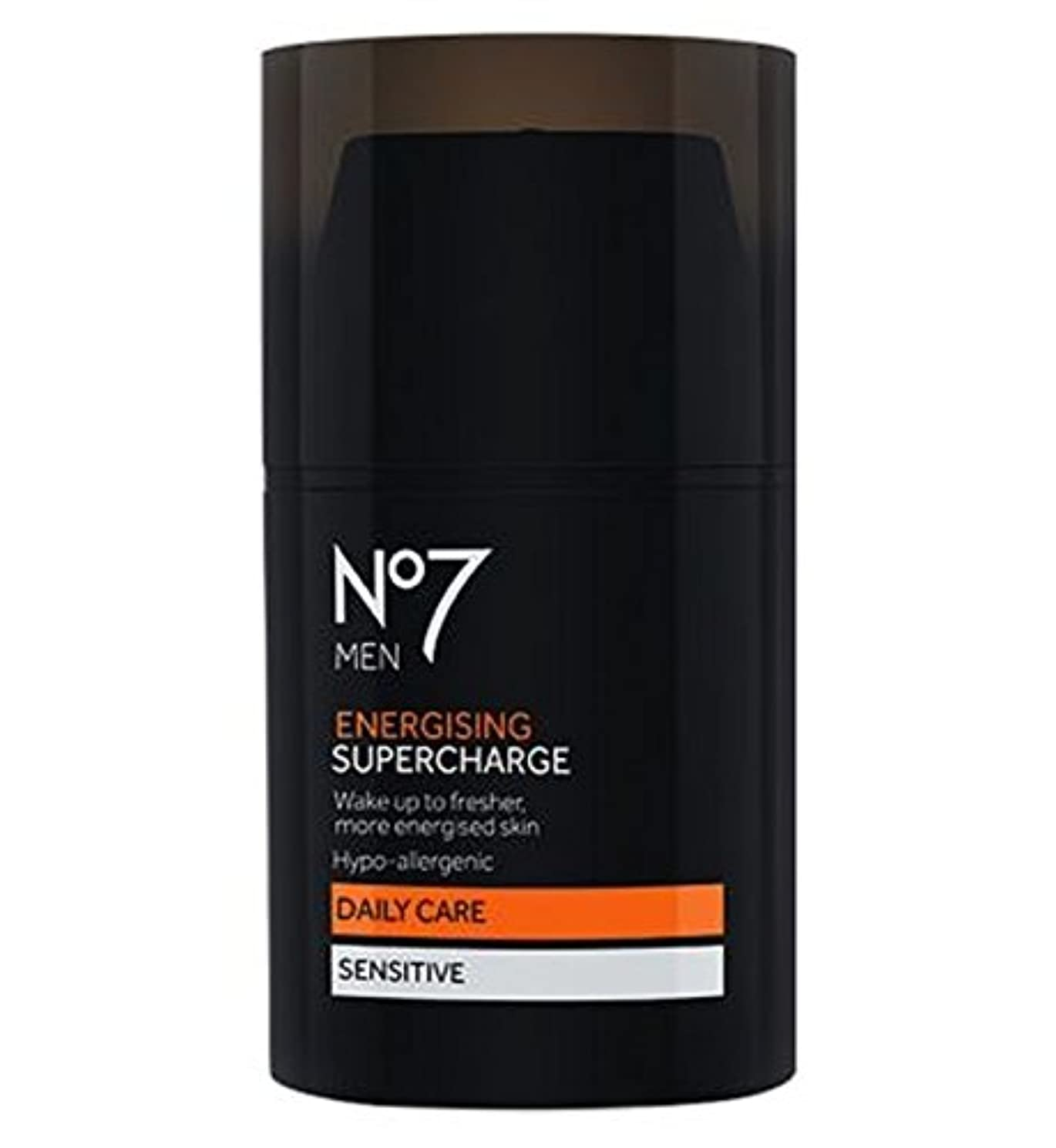 白い雇用救出No7 Men Energising Supercharge - 過給を通電No7の男性 (No7) [並行輸入品]