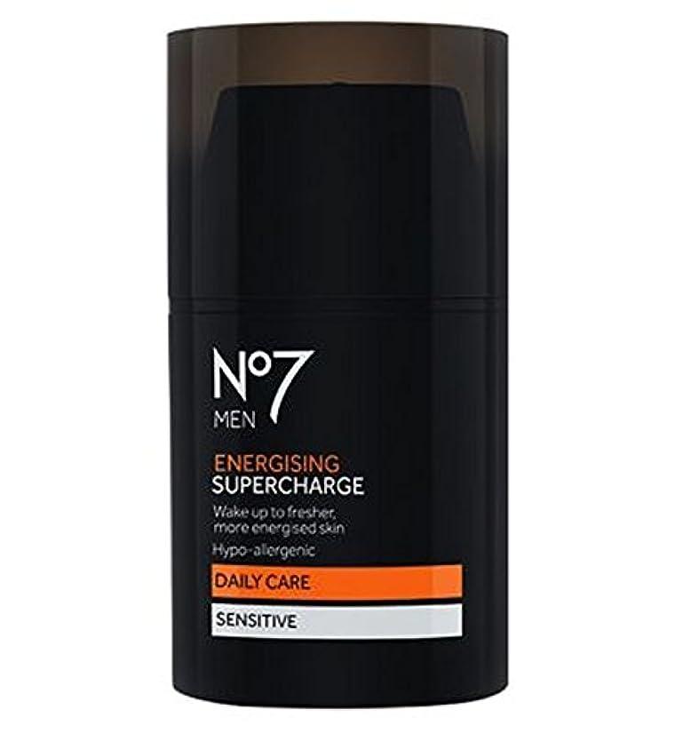受取人悲しい外向き過給を通電No7の男性 (No7) (x2) - No7 Men Energising Supercharge (Pack of 2) [並行輸入品]