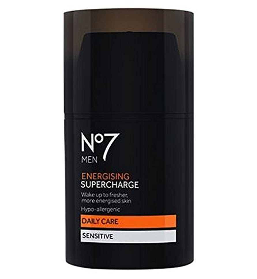 もろいセラー工場No7 Men Energising Supercharge - 過給を通電No7の男性 (No7) [並行輸入品]