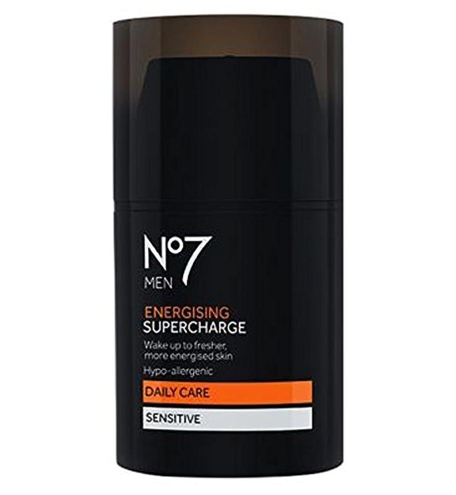 労苦着替える顎No7 Men Energising Supercharge - 過給を通電No7の男性 (No7) [並行輸入品]