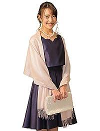 Amazon.co.jp ピンク , ストール / ファッション小物 服