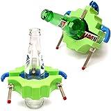 Yosoo ボトルカッター ボトルカッティングマシン グラスカッティング ガラスカッター ガラス切断機 サイクルツール Bottle Cutting bottle cutter DIY 花瓶 燭台 (グリーン)