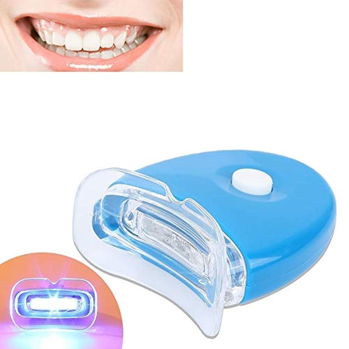 ねばねば誠意交換可能歯をホワイトニングする歯ホワイトナーケア健康な歯科用LEDライト