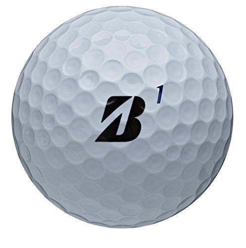 Bridgestone Golf Tour B RXS Golf Balls, White (One Dozen), Mens, RXS White, 760778083109, White, Large