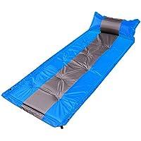 RG- 個々の193 * 63 * 3センチメートル屋外で自動インフレータブルクッション防湿マット厚い広げ昼寝休憩テントパッドをスプライスすることができます