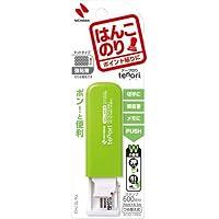 ニチバン テープのりtenoriはんこのり グリーン×5