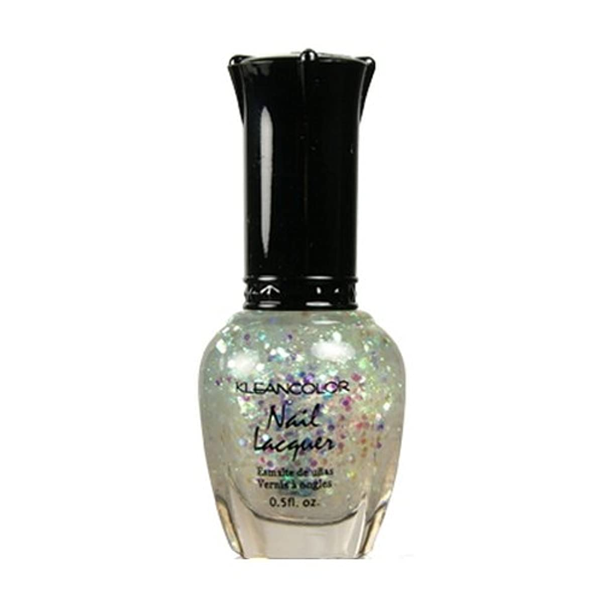 制裁会員褐色KLEANCOLOR Nail Lacquer 4 - Sugar Coat (並行輸入品)