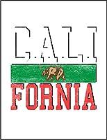 【FOX REPUBLIC】【カリフォルニア クマ】 白光沢紙(フレーム無し)A4サイズ