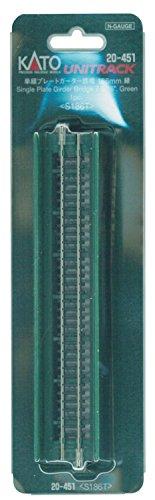 20-451 単線プレートガーダー鉄橋 緑